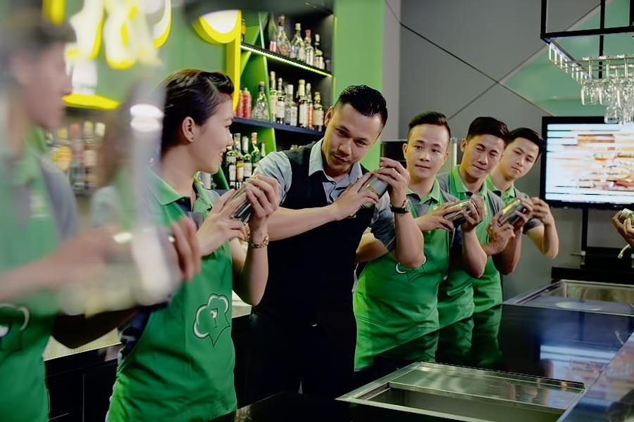 nghiệp vụ bar trưởng