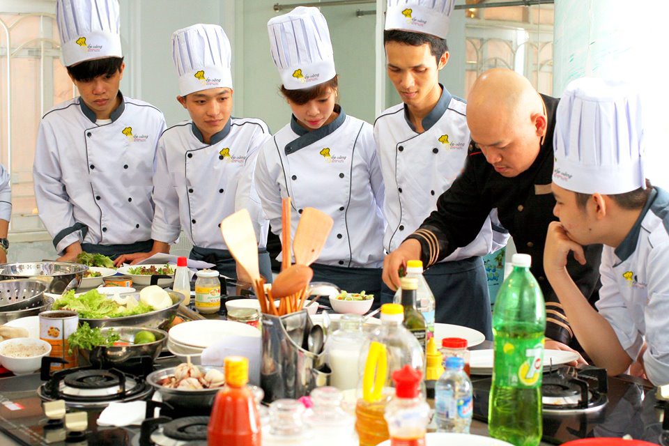 nghiệp vụ bếp chay