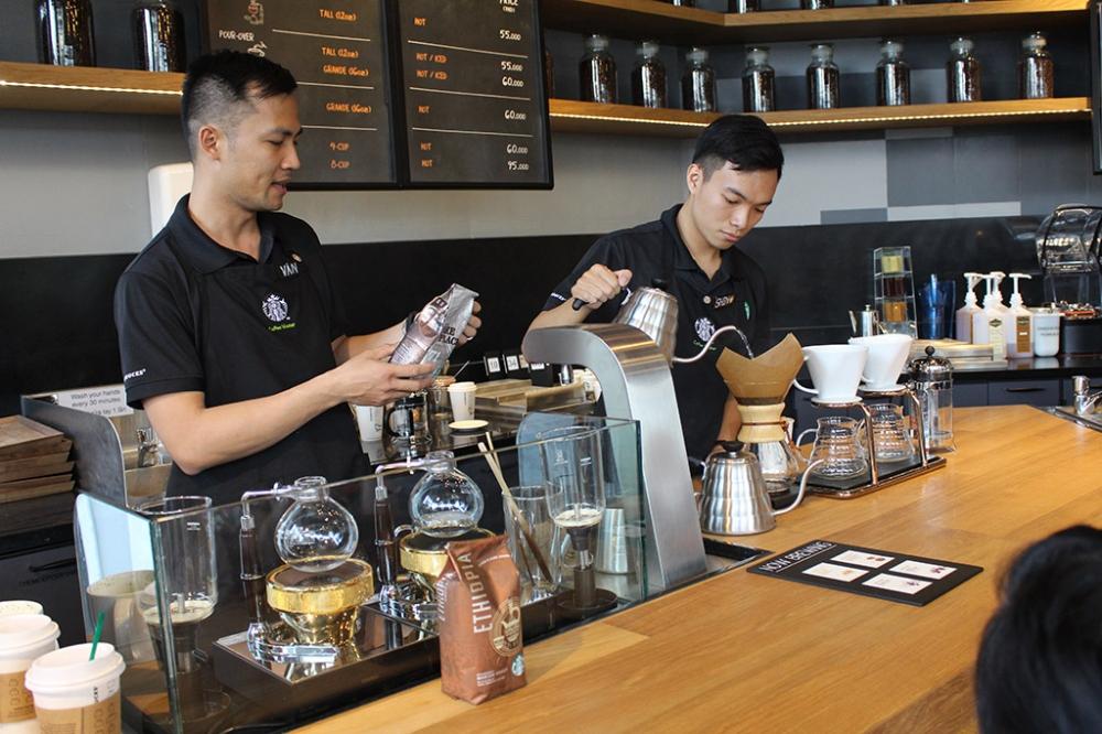 Trung cấp chế biến cà phê ca cao