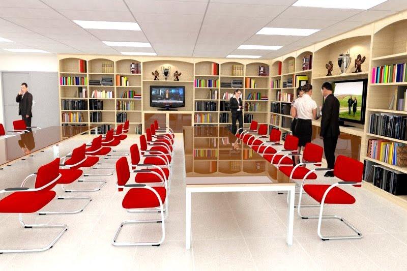 Trung cấp thư viện, thiết bị trường học